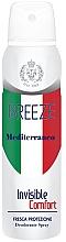Kup Dezodorant w sprayu - Breeze Mediterranean Invisible Comfort Deodorant Spray