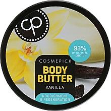 Kup Regenerujące masło do ciała Wanilia - Cosmepick Body Butter Vanilla