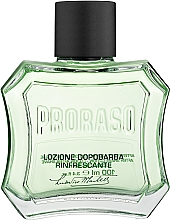 Lotion po goleniu Mentol i eukaliptus - Proraso Green After Shave Lotion — фото N1