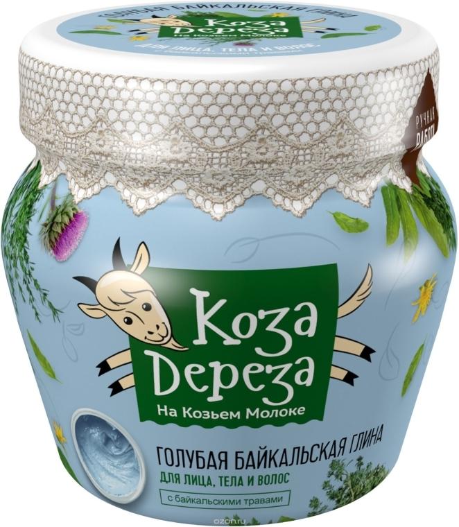 Błękitna bajkalska glinka do twarzy, ciała i włosów - Fitokosmetik Koza Dereza