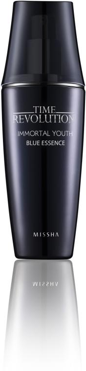 Esencja przeciwzmarszczkowa z niebieskimi mikrocząsteczkami - Missha Time Revolution Immortal Youth Blue Essence — фото N1