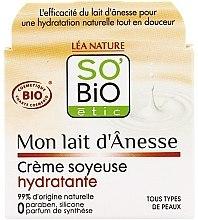 Kup Nawilżający krem do twarzy z oślim mlekiem - So'Bio Etic Mon Lait d'Anesse Silky Moisturizing Cream