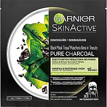 Kup Maska do twarzy w płachcie - Garnier Skin Active Pure Charcoal Mask