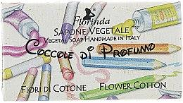 Kup Mydło naturalne w kostce dla dzieci Kwiat bawełny - Florinda Sapone Cotton Flower