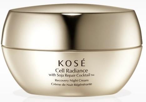 Krem do twarzy na noc - KOSE Soja Repair Cocktail Cell Radiance Recovery Night Cream — фото N1
