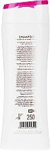 Szampon do włosów z keratyną i witaminami - Silcare Quin Keratin & Vitamins Shampoo — фото N2