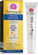 Kup Odświeżający żel redukujący cienie pod oczami - Dermacol Eye Gold Gel