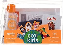 Kup Zestaw - Roofa Cool Kids (h/gel 100 ml + gel/shm 3 g + blue/mask 1 pcs)