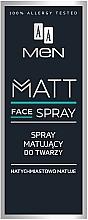 Kup Matujący spray do twarzy dla mężczyzn - AA Men Matt Face Spray