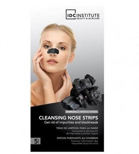 Oczyszczające plastry na nos - IDC Institute Black Charcoal Nose Strip — фото N1