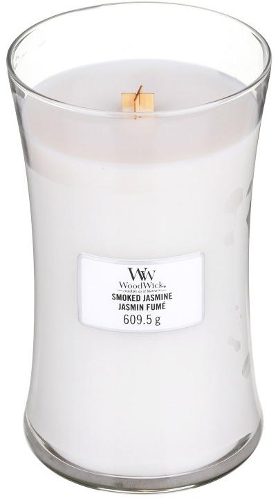 Świeca zapachowa w szkle - WoodWick Hourglass Candle Smoked Jasmine — фото N3