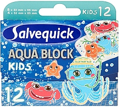 Kup Plastry dla dzieci - Salvequick Aqua Block Kids Slices