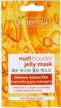 Kup Żelowa maseczka normalizująco-matująca do cery mieszanej i tłustej - Bielenda Matt Booster
