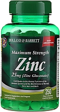 Kup Suplement diety Cynk 25 mg. - Holland & Barrett Maximum Strength Zinc