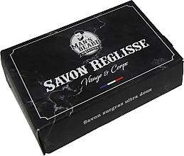 Kup Mydło oczyszczające do twarzy i ciała - Man's Beard Savon Surgras Réglisse