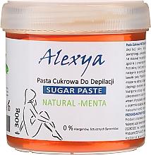 Kup Pasta cukrowa do depilacji Mięta - Alexya Sugar Paste Natural Menta