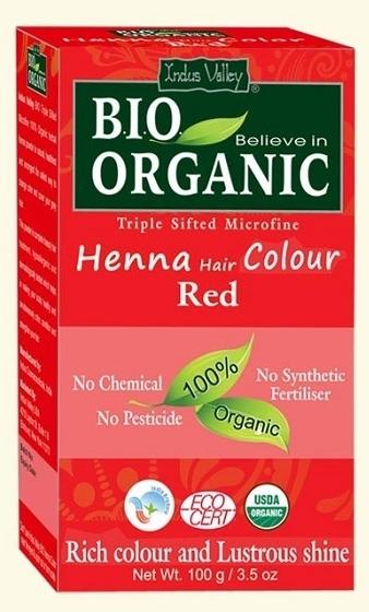 Ekologiczna farba do włosów na bazie henny - Indus Valley Bio Organic Henna Hair Colour — фото N1