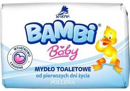 Mydło toaletowe dla dzieci od pierwszych dni życia - Bambi Baby — фото N1