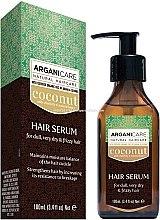Kup Serum z olejem kokosowym do włosów suchych i zniszczonych - Arganicare Coconut Hair Serum For Dull, Very Dry & Frizzy Hair