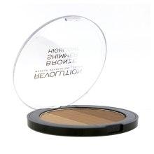 Bronzer do twarzy - Makeup Revolution Ultra Bronze, Shimmer and Highlight — фото N3