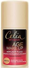 Kup Kryjący fluid przeciwzmarszczkowy - Celia Age Make Up Fluid