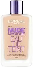 Kup Krem tonujący - L'Oreal Paris Nude Magique Eau de Teint Fresh Feel Foundation SPF 18
