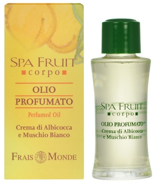Frais Monde Spa Fruit Apricot And White Musk Perfumed Oil - Olejek perfumowany Morela i białe piżmo — фото N1