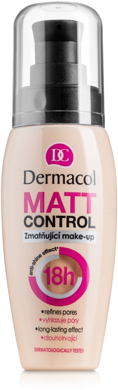 Długotrwały matujący podkład w kremie - Dermacol Matt Control