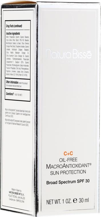 Dwufazowy preparat ochronny z makroantyoksydantami i witaminą D - Natura Bisse C+C Oil-Free Macroantioxidant SPF30 — фото N2
