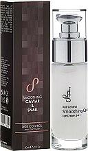 Kup Wygładzający krem pod oczy - Sayaz Cosmetics Age Control Smoothing Caviar & Snail Eye Cream 24H