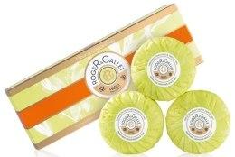 Kup Zestaw perfumowanych mydeł w kostce Osmantus - Roger & Gallet Fleur D'Osmanthus Perfumed Soaps (soap/3x100g )