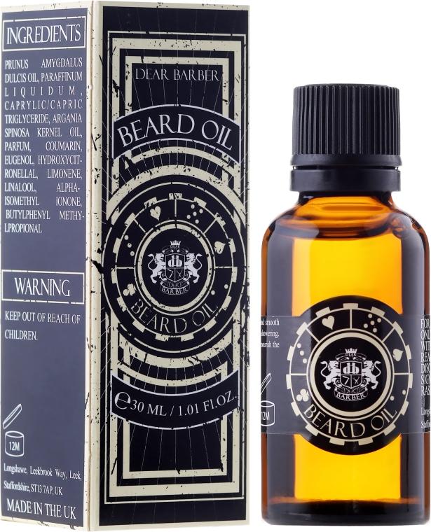 Olejek do brody - Dear Barber Beard Oil — фото N1