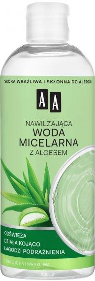 Nawilżająca woda micelarna z aloesem - AA Skin Food — фото N1