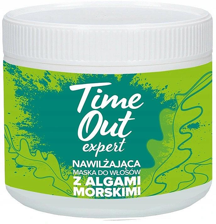 Nawilżająca maska do włosów z algami morskimi - Time Out  — фото N1