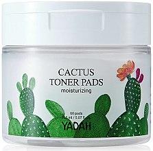 Kup Nawilżające chusteczki do twarzy - Yadah Cactus Moisturizing Toner Pads