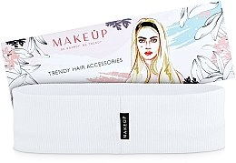 Kup Opaska na głowę Be Beauty, biała (20 x 6 cm) - Makeup