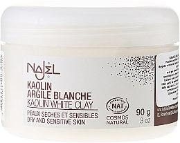 Kup Kosmetyczna glinka biała - Najel Clay In Powder White
