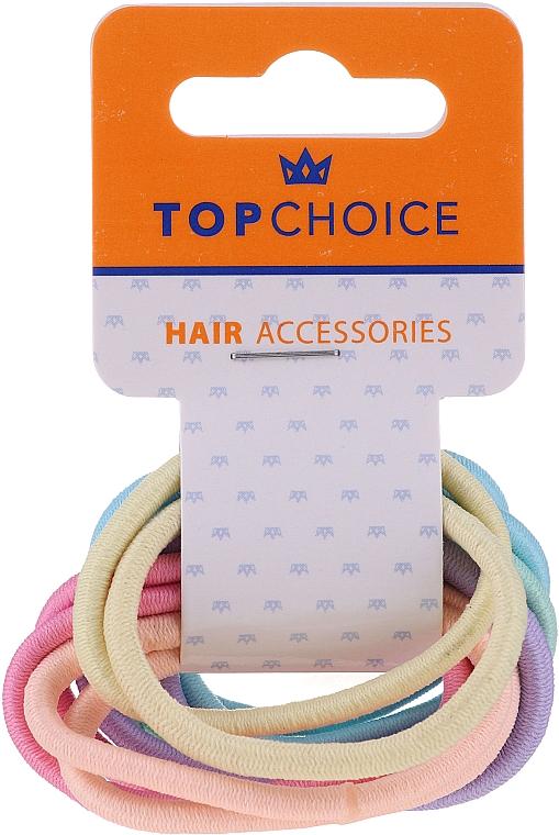 Zestaw gumek do włosów 22500, 12 szt. - Top Choice — фото N1