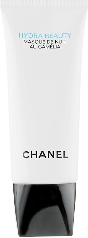 Dotleniająco-nawilżająca maska do twarzy na noc - Chanel Hydra Beauty Masque de Nuit au Camélia — фото N2
