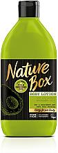Kup Odżywczy balsam do ciała z zimnotłoczonym olejem z awokado - Nature Box Avocado Oil Body Lotion