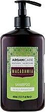 Kup Szampon do suchych i zniszczonych włosów - Arganicare Macadamia Shampoo