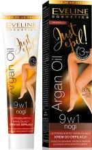 Kup Ultradelikatny nawilżający krem do depilacji 9 w 1 - Eveline Cosmetics Argan Oil