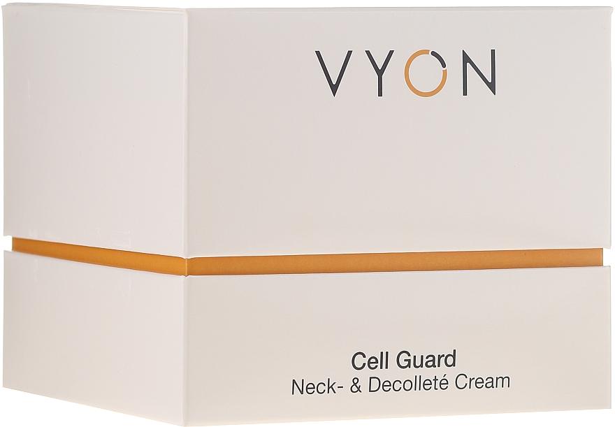 Odmładzający krem do szyi i dekoltu - Vyon Cell Guard Neck and Dekollete Cream — фото N2