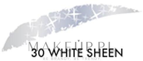 Cień w kredce do powiek - Astra Make-up Jumbo Glitter Eyeshadow — фото 30 - White Sheen