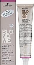 Kup Tonująca baza w kremie do włosów blond - Schwarzkopf Professional BlondMe Deep Tones Blonde Toning