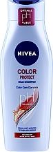 Kup Szampon chroniący kolor do włosów farbowanych - Nivea Color Protect pH Balace Mild Shampoo