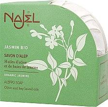 Kup Rewitalizujące mydło aleppo w kostce Jaśmin - Najel Jasmin Aleppo Soap