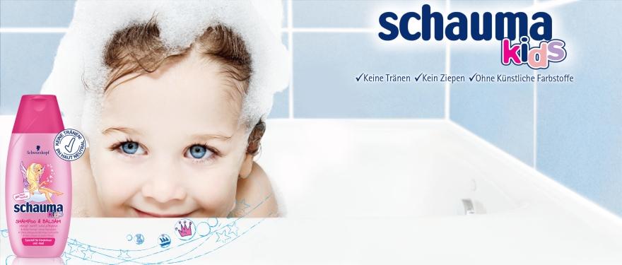 Szampon i odżywka dla dzieci - Schwarzkopf Schauma Kids Shampoo — фото N2