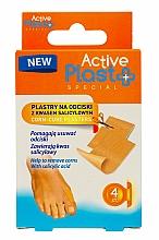 Kup Plastry na odciski z kwasem salicylowym - Ntrade Active Plast Special Corn-Cure Plasters For Cutting