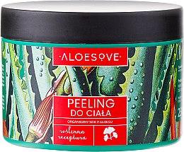 Kup Peeling do ciała z organicznym sokiem z aloesu - Aloesove